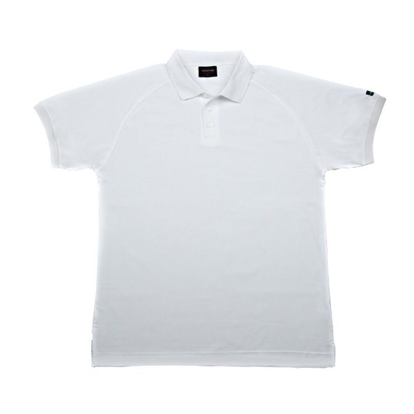 Recycled Polo Shirt (White) All sizes available