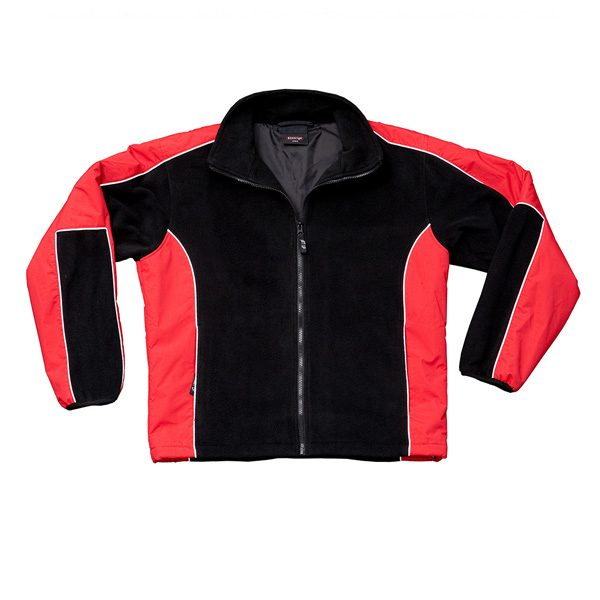 Lewis Jacket – Red/Black
