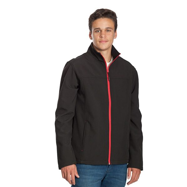 Stoke Jacket – Black/Red