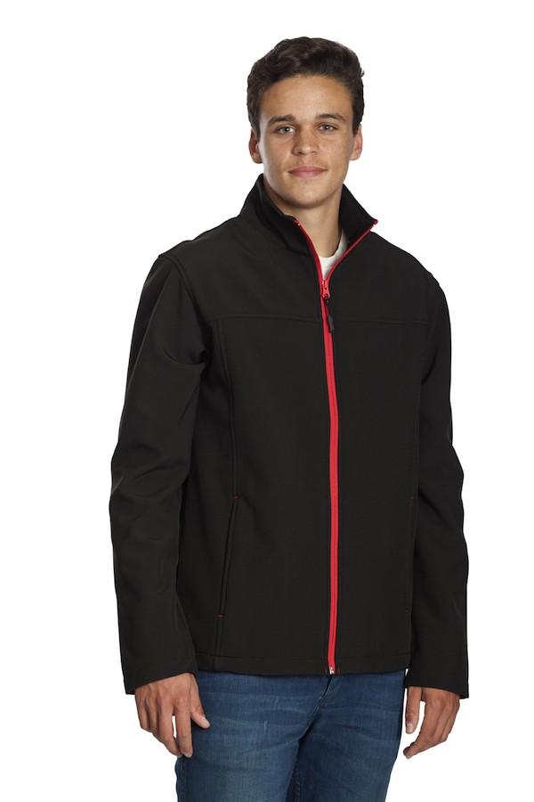 Stoke Jacket – Black/Red