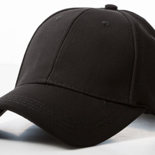 Polyester Black Cap