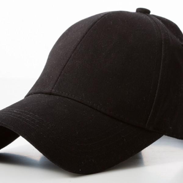 Retail Black Caps 100% Cotton