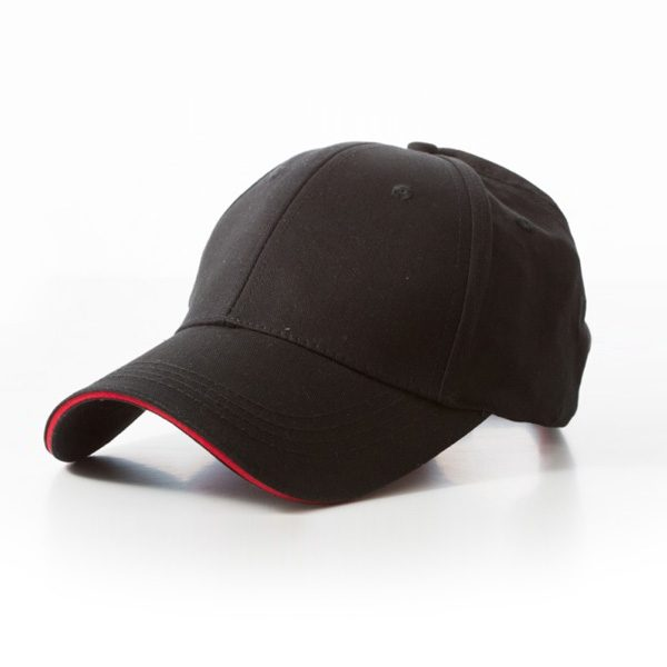 Promotional Black Red Cap