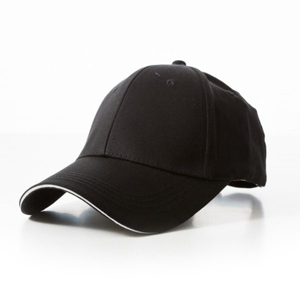 Promotional Black White Cap