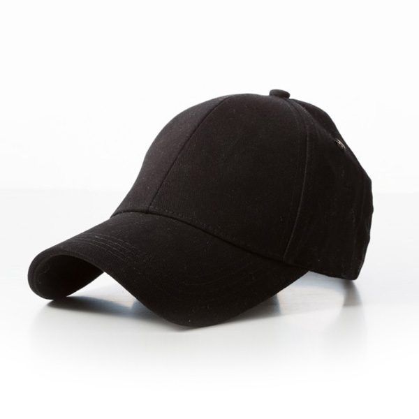 Retail Black Caps 100% Cotton