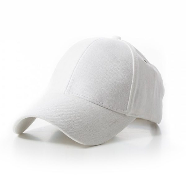 Retail White Cap 100% Cotton