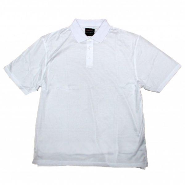 Platinum polo shirt (white)