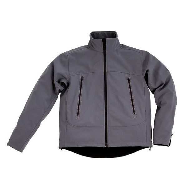 Race Softshell Jacket – Mid Grey