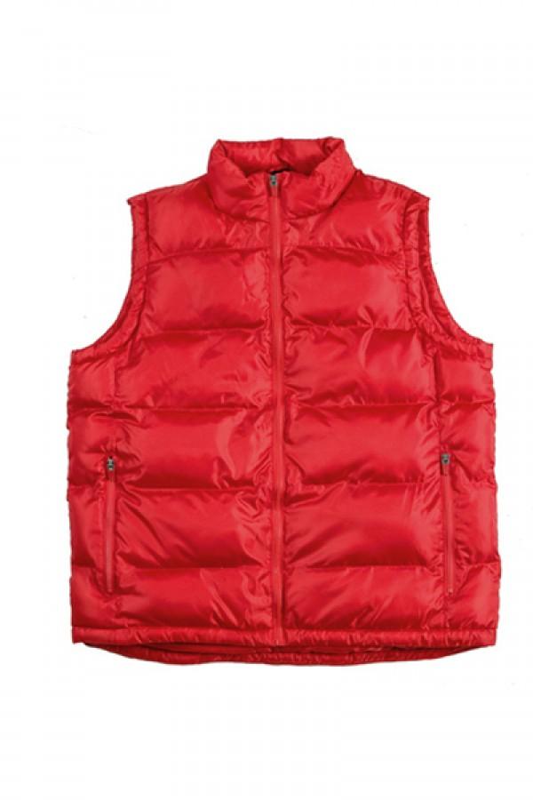 Benson Puff Vest – Red