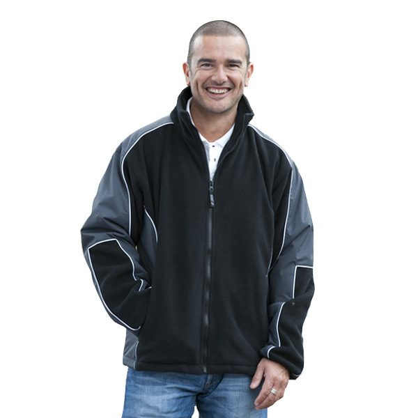 Lewis Jacket – Grey/Black