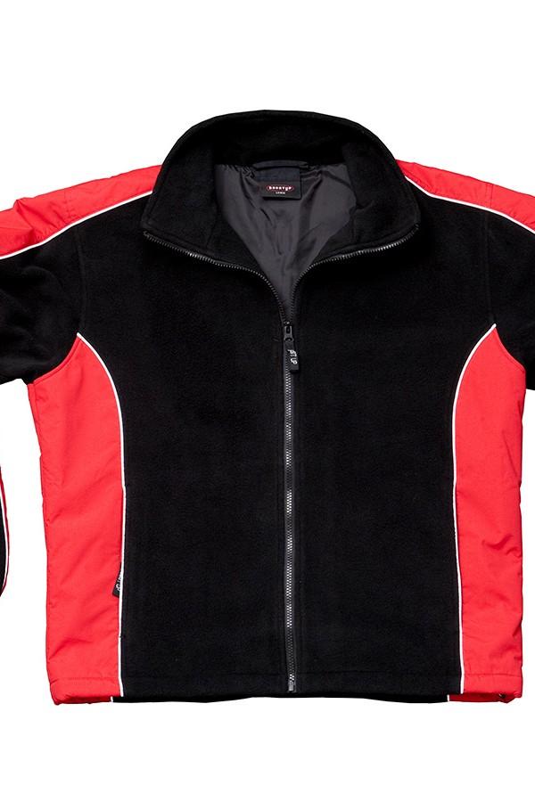Lewis Jacket Red-Black