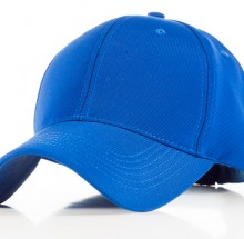 Polyester Blue Cap