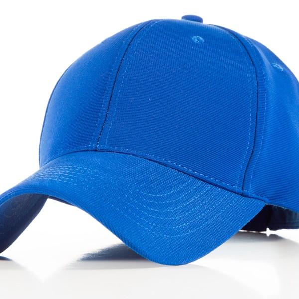 Polyester Blue Cap