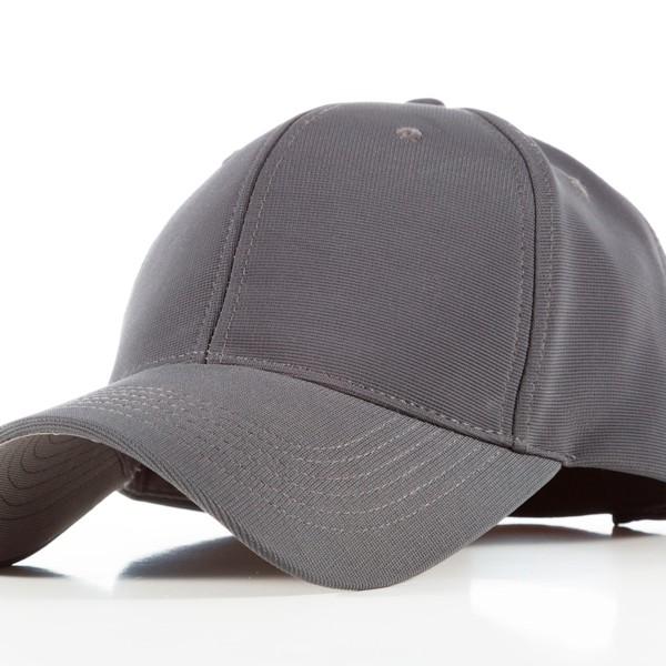 Polyester Grey Cap