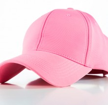 Polyester Pink Cap