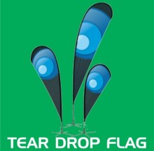 Custom Tear Drop Flag