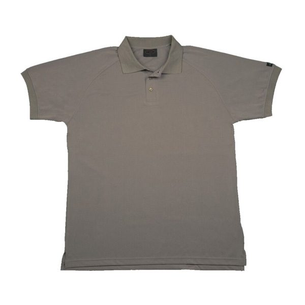 Recycled Polo Shirt (Cocoa Grey) All sizes available