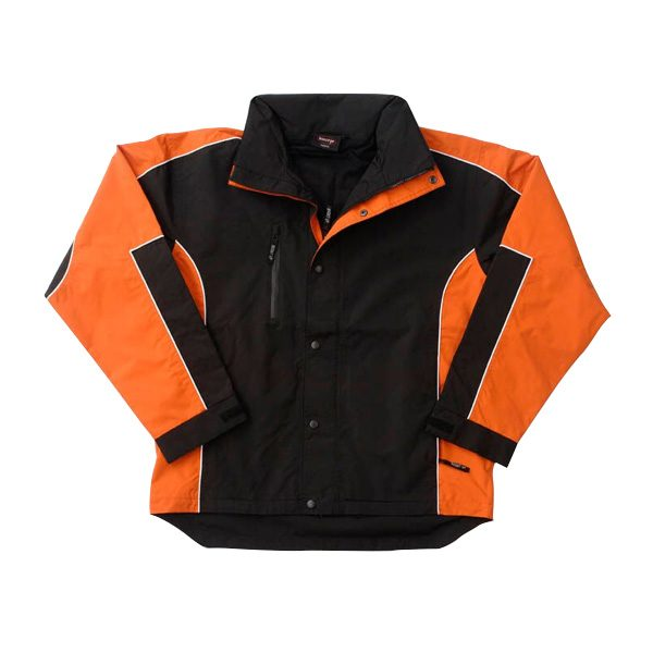 Concept Jacket – Black/Orange
