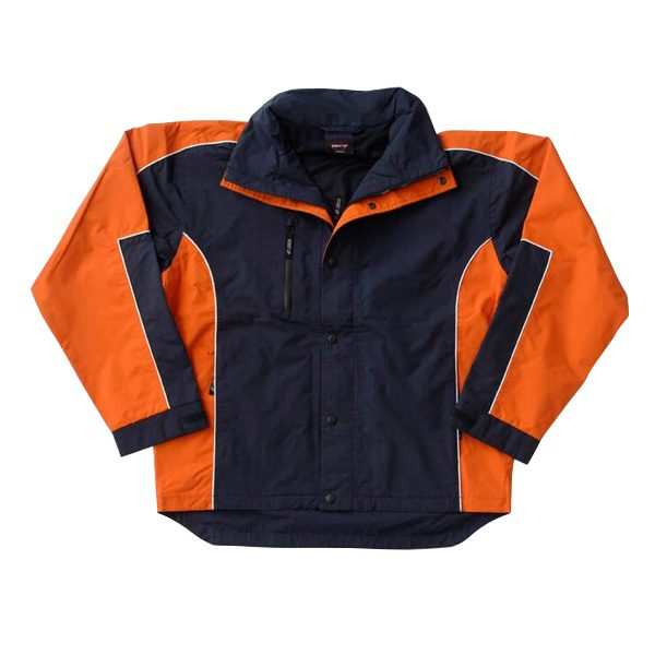 Concept Jacket – Navy/Orange