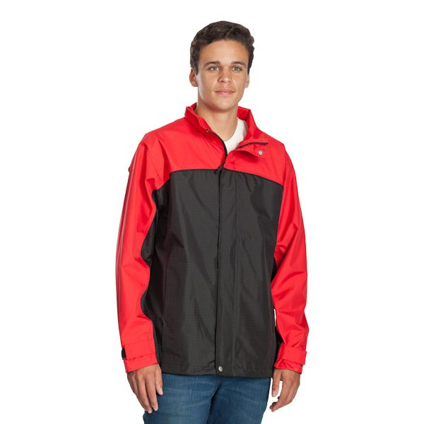 Benj Jacket – Black/Red