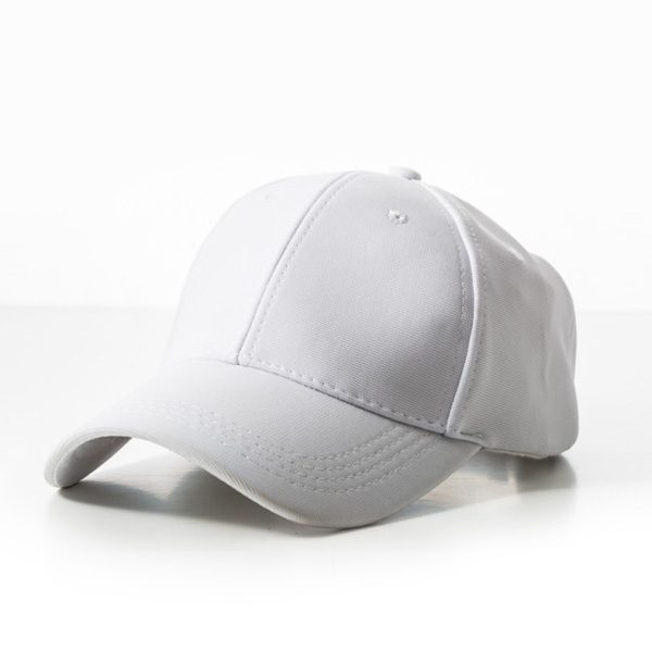 Polyester White Cap
