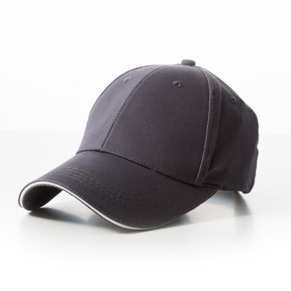 Promotional Grey White Cap