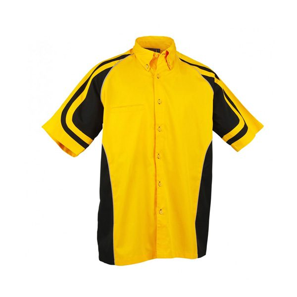 LE MANS PIT CREW SHIRT – Yellow/Black