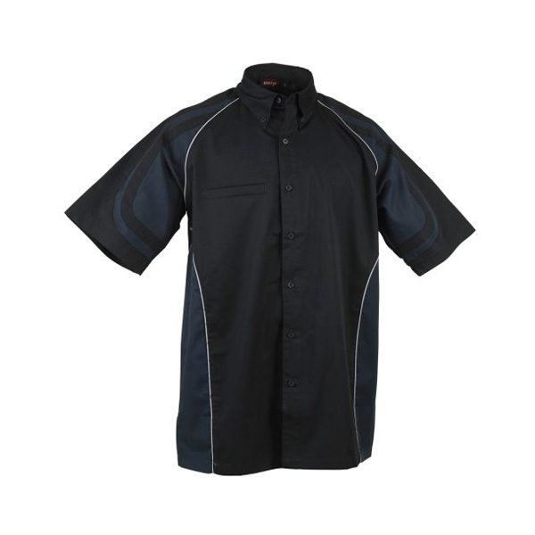 LE MANS PIT CREW SHIRT – Black/Dark Grey