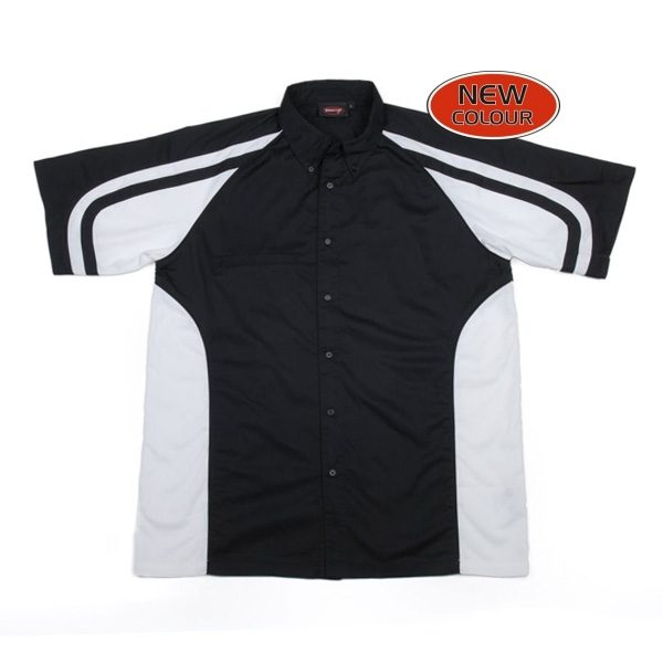 LE MANS PIT CREW SHIRT – Black/White