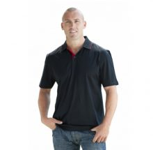 Platinum Polo Shirt (Black/Red)