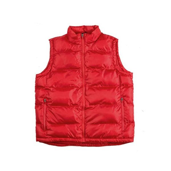 Benson Puff Vest – Red