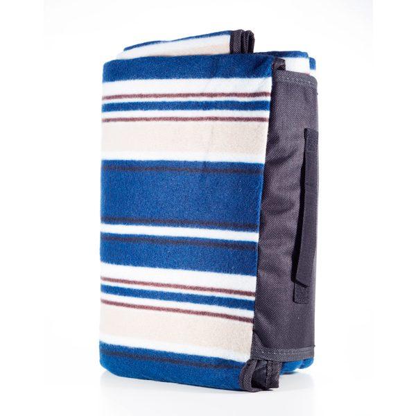 Blue Stripe Picnic Rug