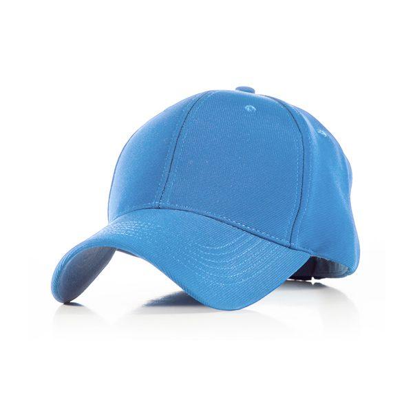 Polyester Sky Blue Cap
